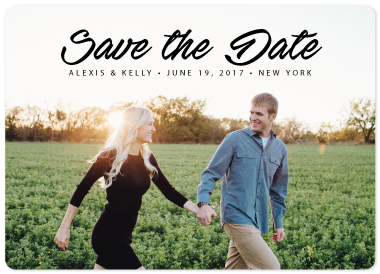 save the date cards - Simply Elegant by jellyjollyho