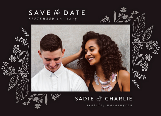save the date cards - Tapestry by Chris Griffith
