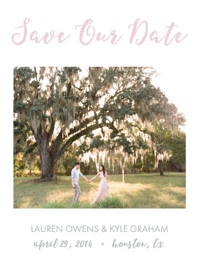 save the date cards - Last Love Save the Date by Texas Girls
