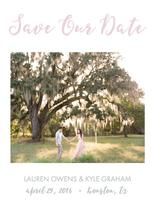 Last Love Save the Date by Texas Girls