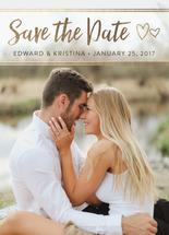 Save the Date Card by Kayle Gorman