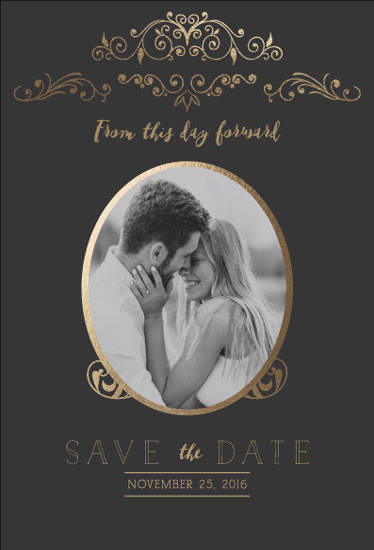 save the date cards - From this day forward by Jann Javier