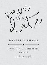 Save the Date - Fancy by Oliver Calimbo
