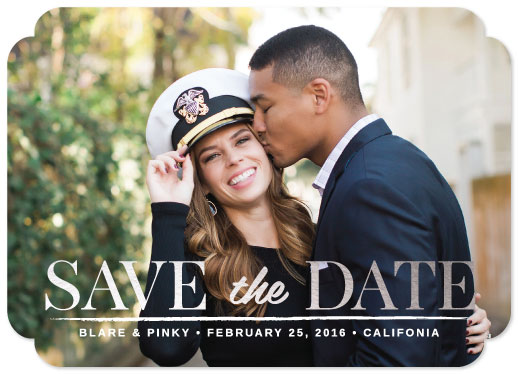 save the date cards - XOXO by Christian Blare Bariquit