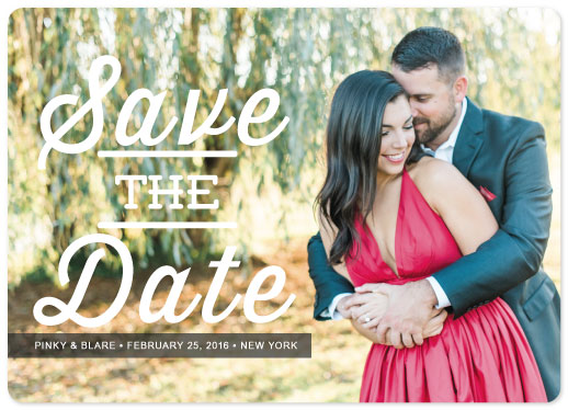 save the date cards - Perfectly In Love by Christian Blare Bariquit