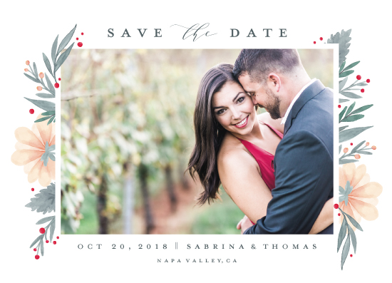 save the date cards - Our Garden by Petra Kern