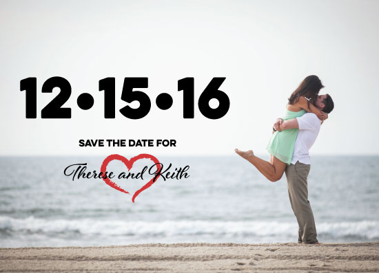 save the date cards - Simply simple by Romulo Gemao Jr.