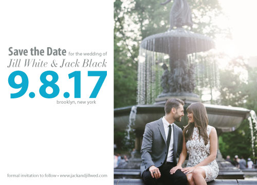 save the date cards - Lovely Save the Date by Nicole C