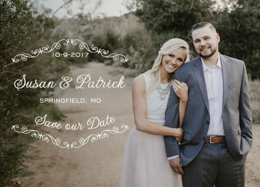 save the date cards - Enclosure by ashnee eiram