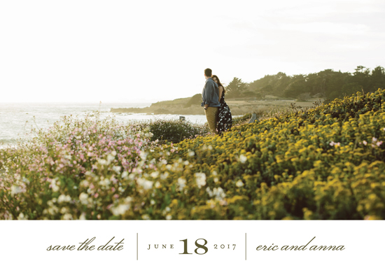 save the date cards - Always by Eric Clegg
