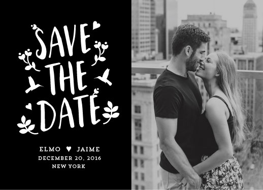 save the date cards - Hums of Love by Stanley Cin