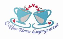 Coffee News Engagement by Norie Wah Day