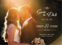 Save the Date Card dark... by Khevin Roa