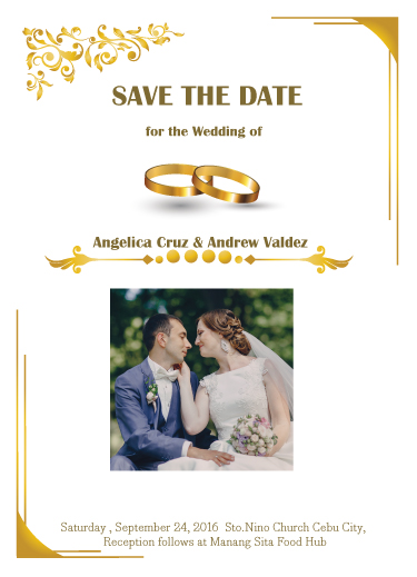 save the date cards - Ring by JoycesRoses