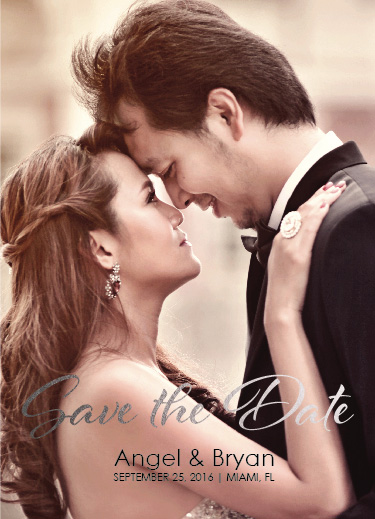 save the date cards - Wedding by Ronnel