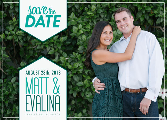 save the date cards - Bookmark our date by Viper Paper Co.
