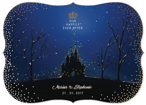 save the date cards - Magical Night by Alvita