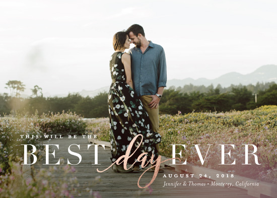 save the date cards - Simply Best by Jessica Williams