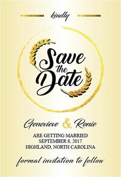 Wedding: Save the Date