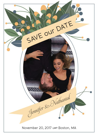 save the date cards - Sweet Surround by Cindy Jost