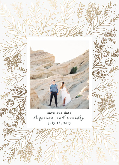 save the date cards - Golden Fields by Annie Montgomery