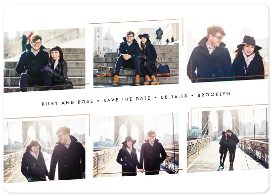 save the date cards - Sleek & Chic by jomolo