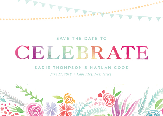 save the date cards - Celebrate by Laura Moyer