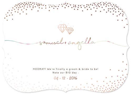 save the date cards - Sparklings by Alvita