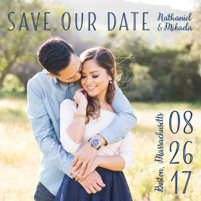 save the date cards - Borderline... by Janice Lynne