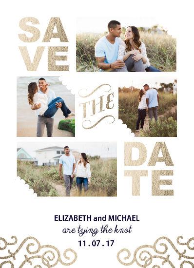 save the date cards - Lavish Love by Christy Platt