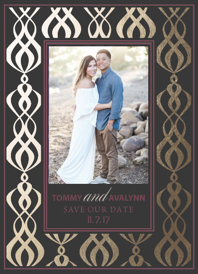 save the date cards - Love Cascade by Christy Platt
