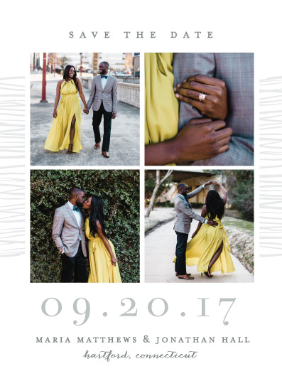save the date cards - Love Square by Michelle Taylor