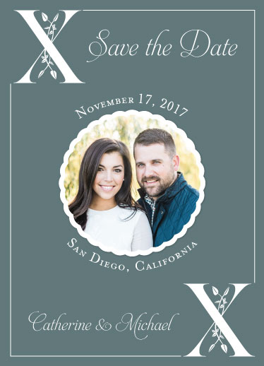 save the date cards - Affection by Cindy Jost