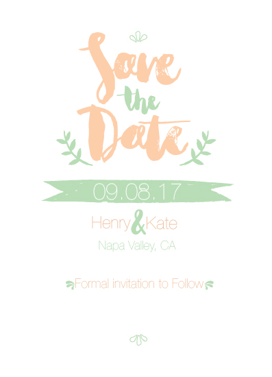 save the date cards - Henry met Kate by Retroactive Studios