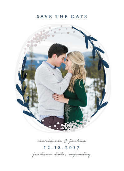 save the date cards - Winter Day by Michelle Taylor