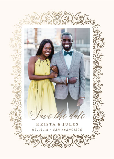 save the date cards - Intricate Love by heythird