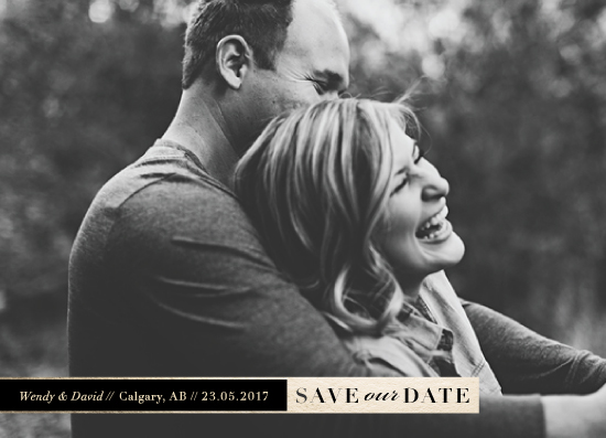 save the date cards - Simple Save by Shannon