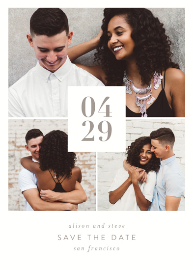 save the date cards - Wedding shout out by Seven Swans