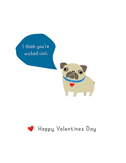 valentine's day - Wicked Cool Dog Cards by Annie Taylor