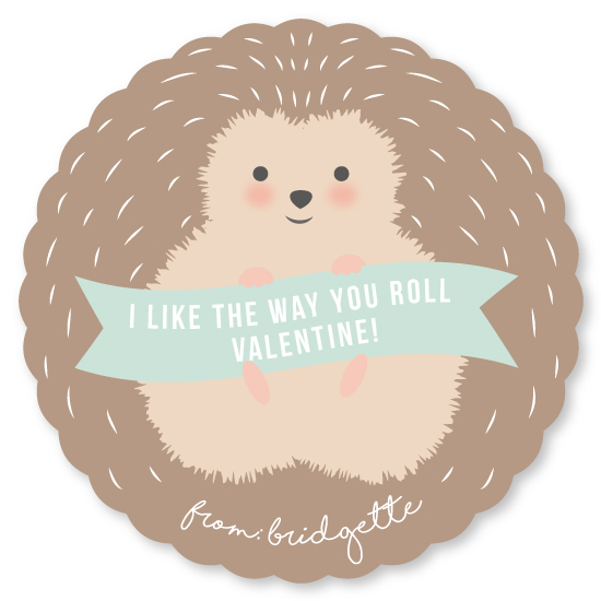 valentine's day - I like the way you roll by Angela Garrick