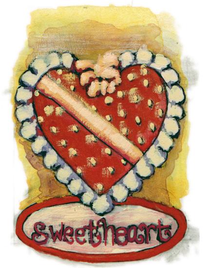valentine's day - sweetheart by Cleo Papanikolas