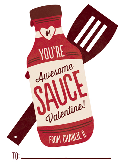 valentine's day - Awesome Sauce by Erica Krystek