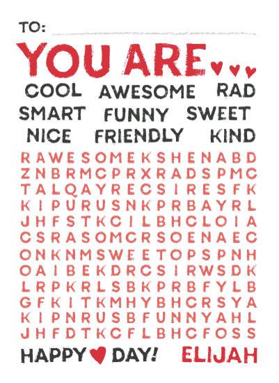 valentine's day - Wonderful Words by Jessie Steury