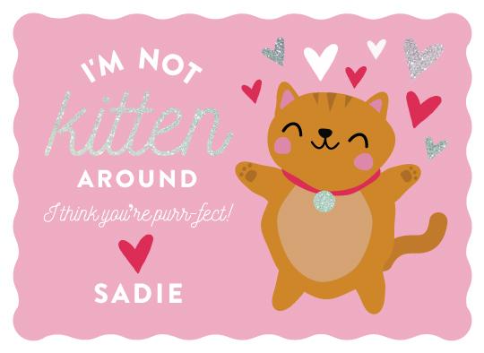 valentine's day - Kitten Around by One Swell Studio