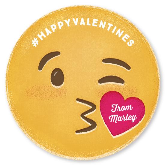 valentine's day - Kiss Emoji by Jody Wody