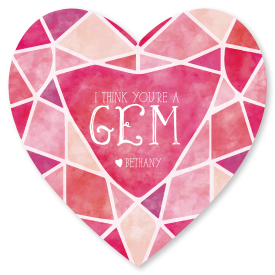 valentine's day - I Think You're A Gem by Chelsea Simmons