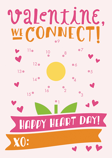 valentine's day - We Connect! by Christina Novak