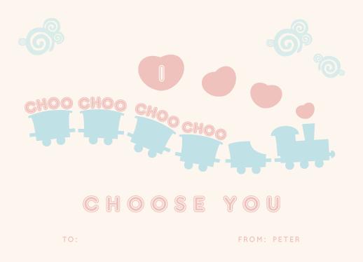 valentine's day - I Choo Choo Choose You by Marnel