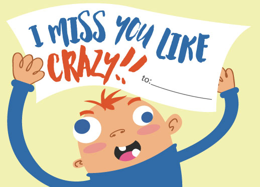 valentine's day - I miss you like crazy by Maverick Sausa