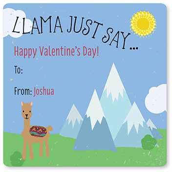 valentine's day - Llama Just Say... by Allison Kizer